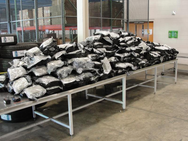 Large cannabis seizures at US Canada border continue