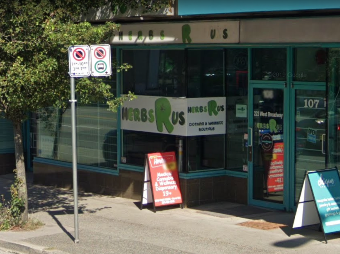 "Toys ""R""  Us wins case against Vancouver cannabis dispensary"