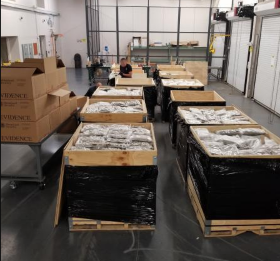 US officials seize another large cannabis shipment at Canadian border, the latest in a string of large shipments