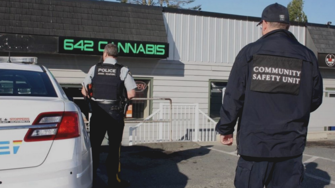 BC's weed police will be enforcing new provincial COVID-19 rules