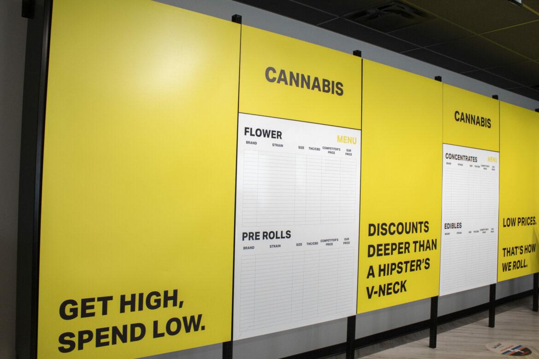 Alberta retail location rebrands as Deep Discount Cannabis