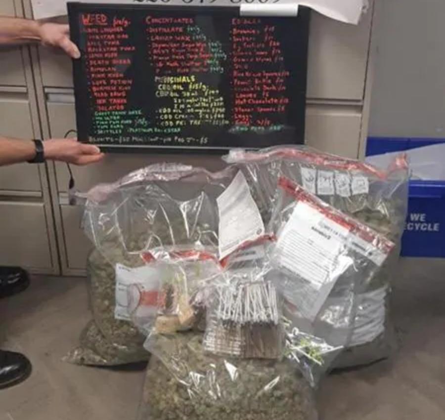 OPP raid Pot of Gold Medicinals and  BC Budz on Wheels in Sarnia