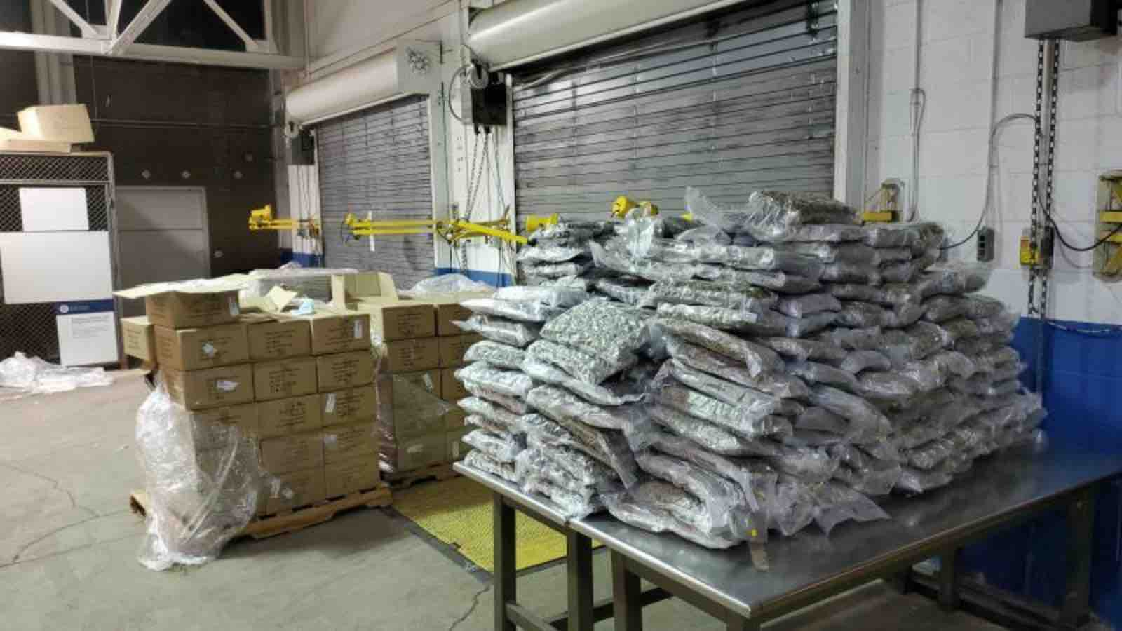 US customs seizes another 900 pounds of cannabis at Canadian border