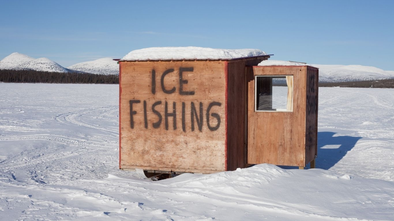 RCMP is reminding Manitobans that it is illegal to consume alcohol or cannabis while ice fishing