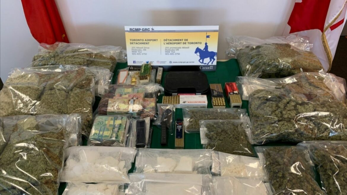 RCMP arrests five, seizes 43 kg of cannabis and over 1.5 kg of cocaine being exported to the Caribbean