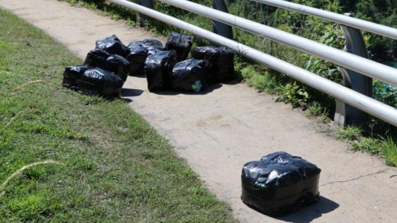 Man abandons 118 pounds of cannabis near Niagara Falls