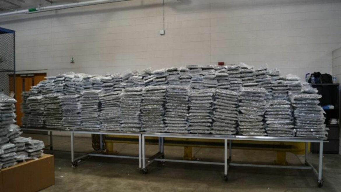 US Customs seizes 2,500 pounds of cannabis from Canada at Detroit crossing