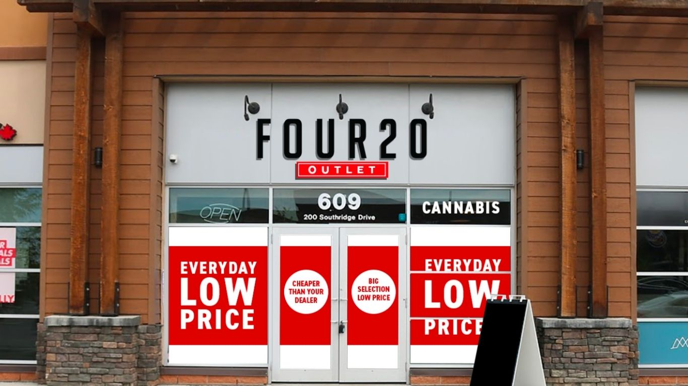 """photo of Three new cannabis """"Outlet"""" stores opening in Alberta image"""