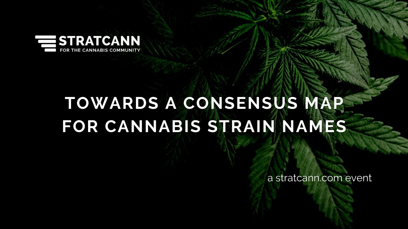 Towards a Consensus Map for Cannabis Strain Names